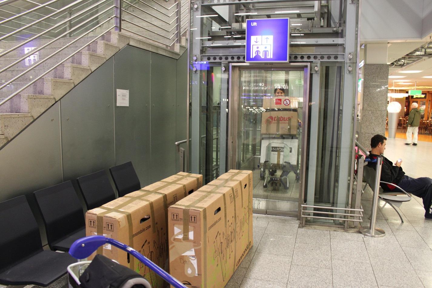 Frankfurt Flughafen Labyrinth