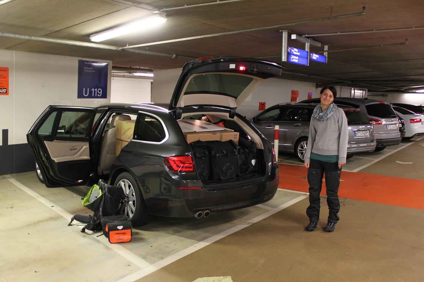 Parkhaus Flughafen