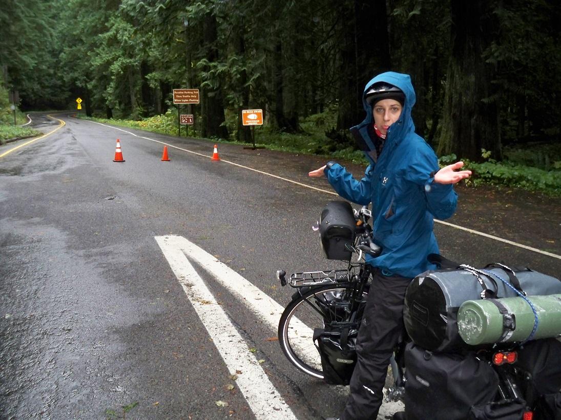 Nationalpark Mt. Rainier geschlossen