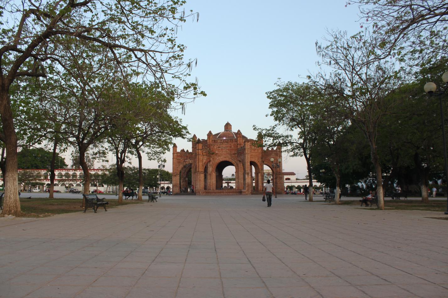 Zocalo von Chiapa de Corzo