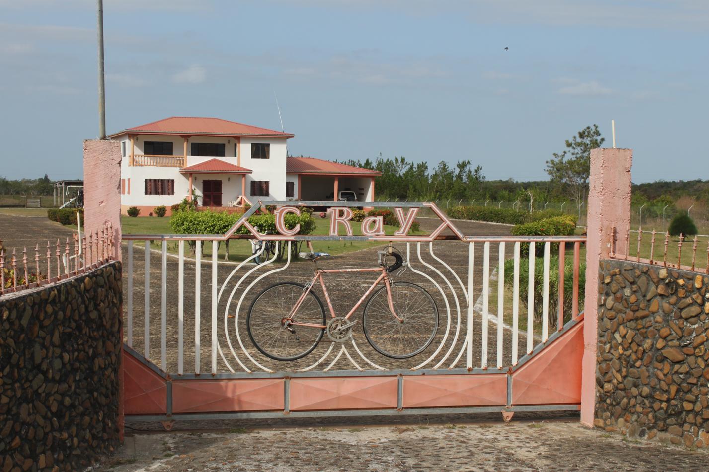 Hier scheint ein Fahrradliebhaber zu wohnen.