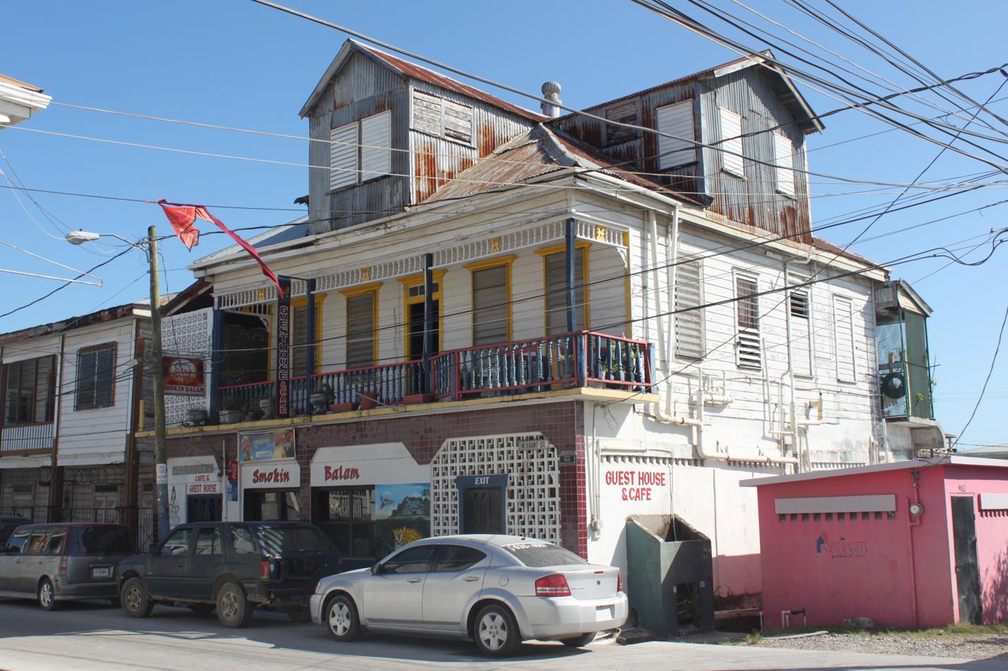 Unsere Unterkunft in Belize City.