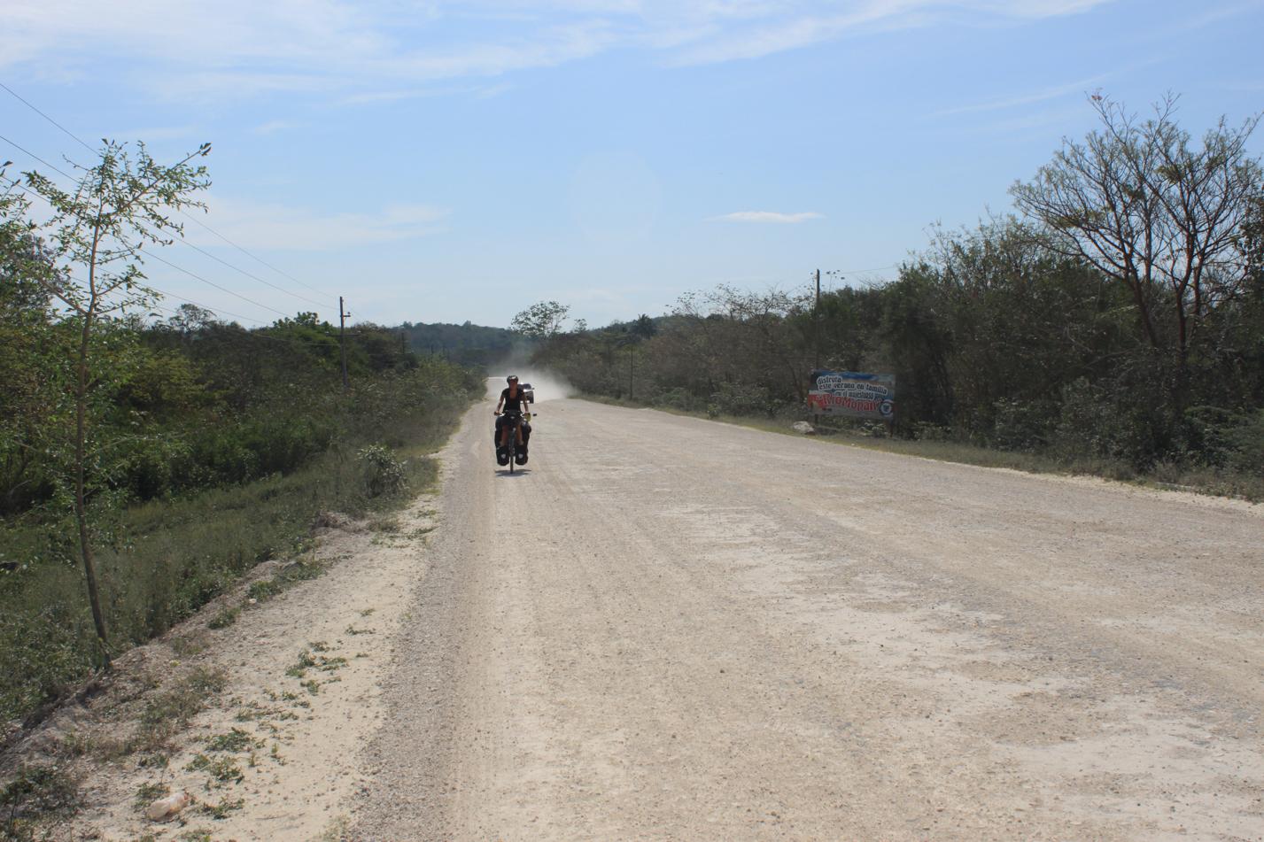 Schotterpiste Guatemala