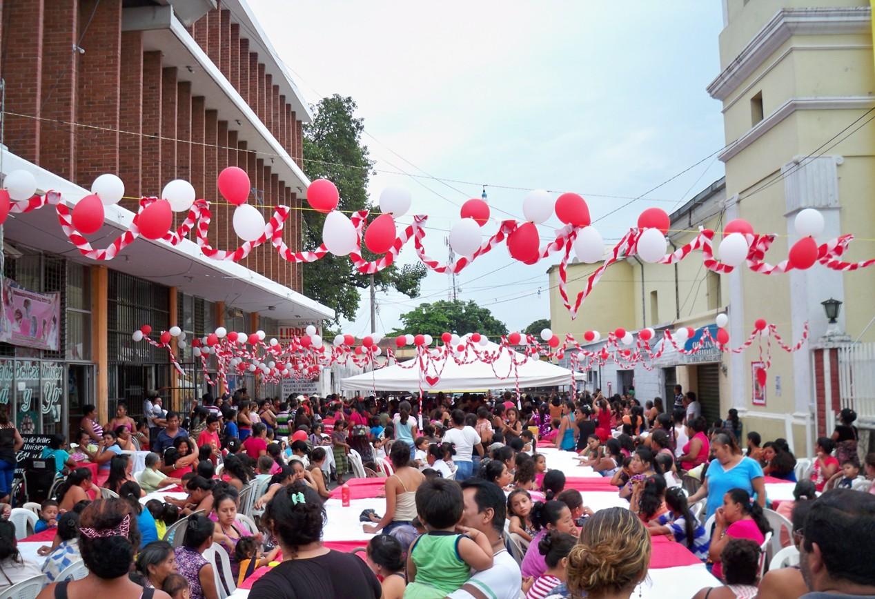 Muttertagsfeier in Chiquimulilla