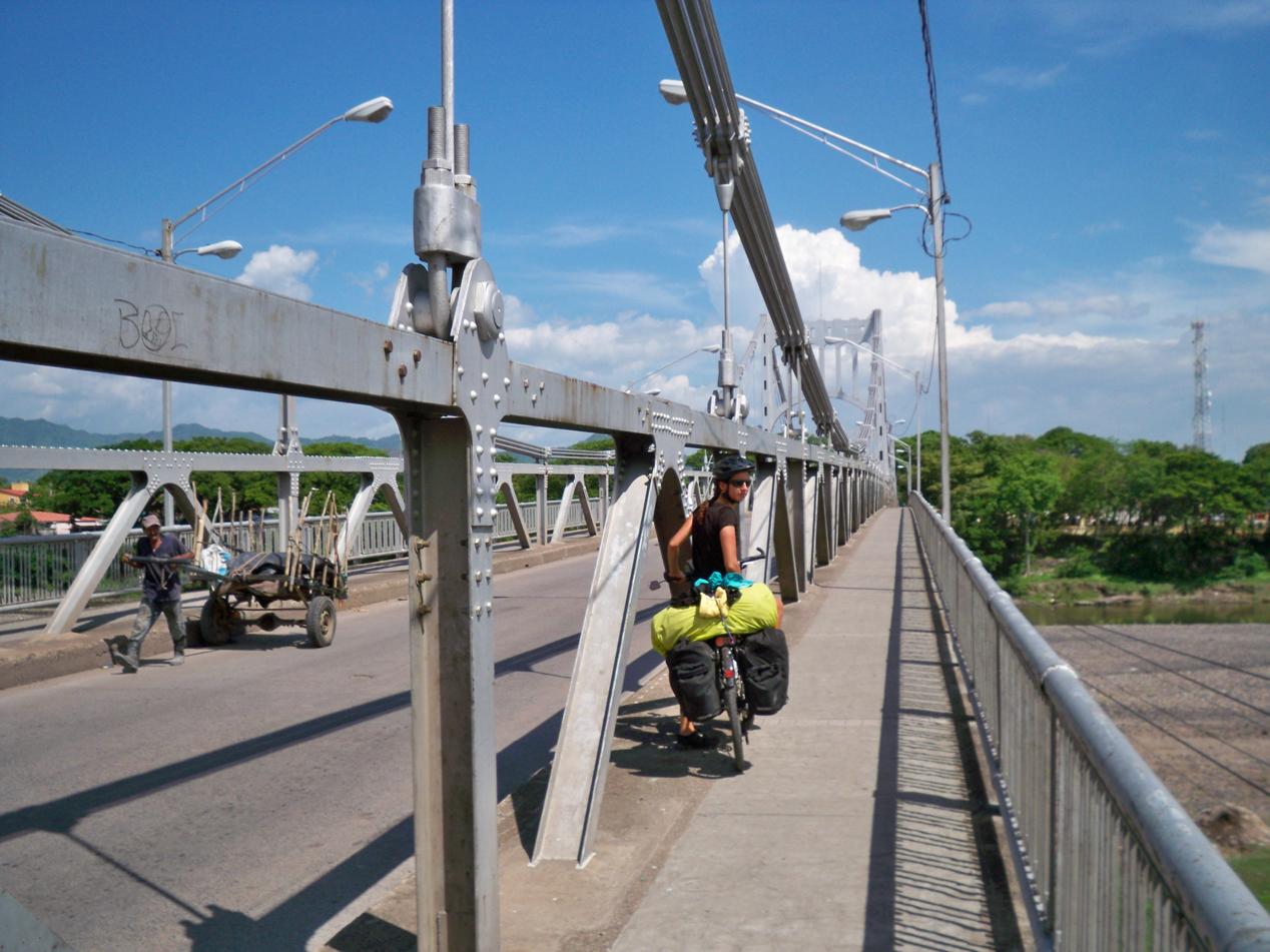 Brücke nach Choluteca in Honduras