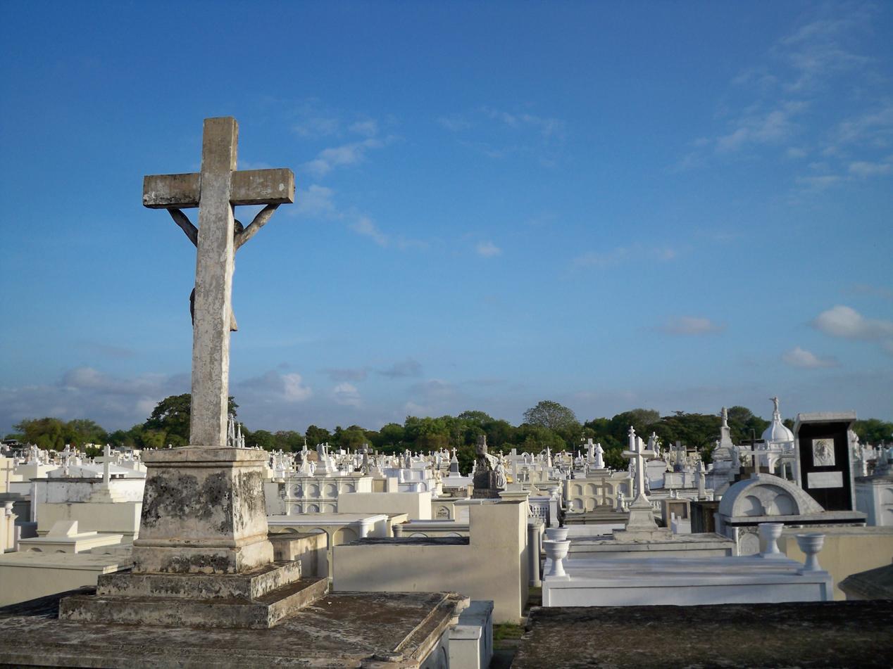 Friedhof am Rande von Granada.