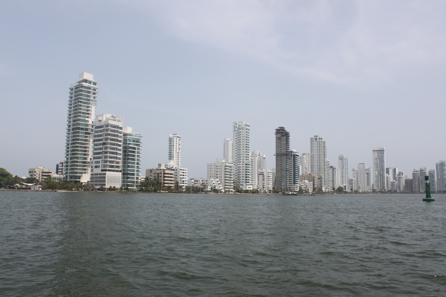 Dieser Ausblick war ähnlich imposant wie in Panama City.