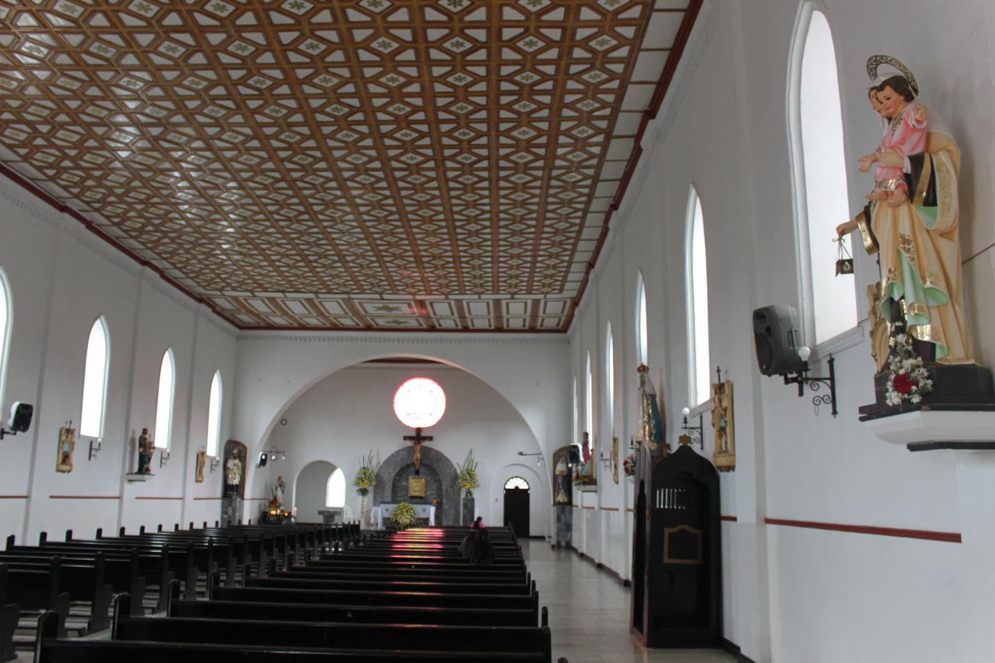Blick in die Kirche von San Augustin.