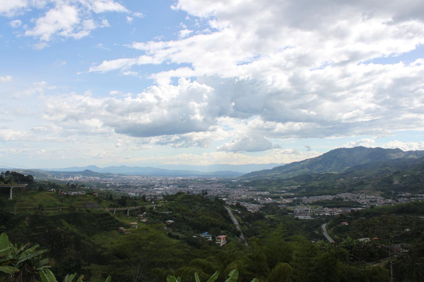 Blick über die Stadt Pereira.