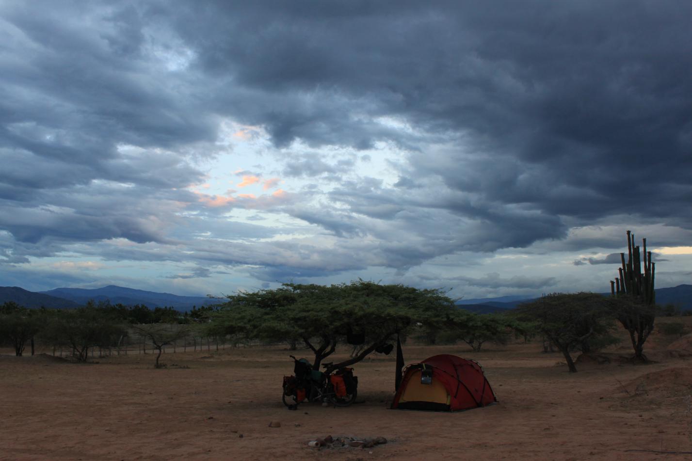 Unser Heim in der Wüste.