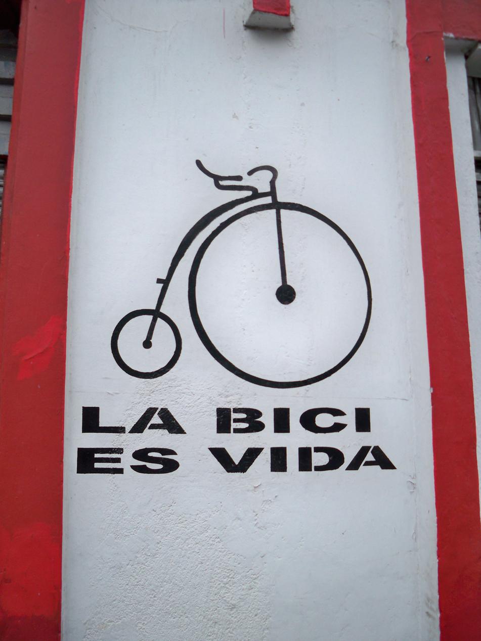 Das Fahrrad ist Leben! Noch Fragen...