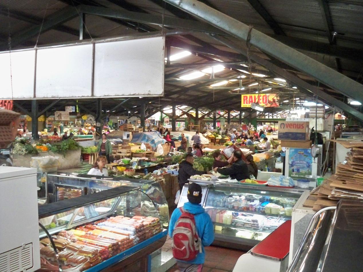 Markt in Pasto