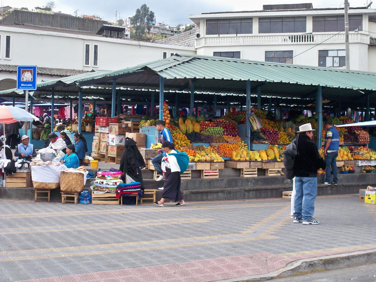 Markt in Otovalo.