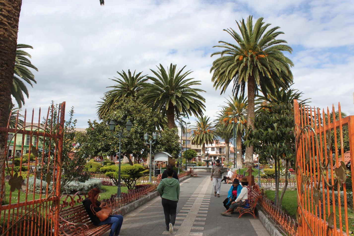 Blick auf den Hauptplatz von San Miguel.
