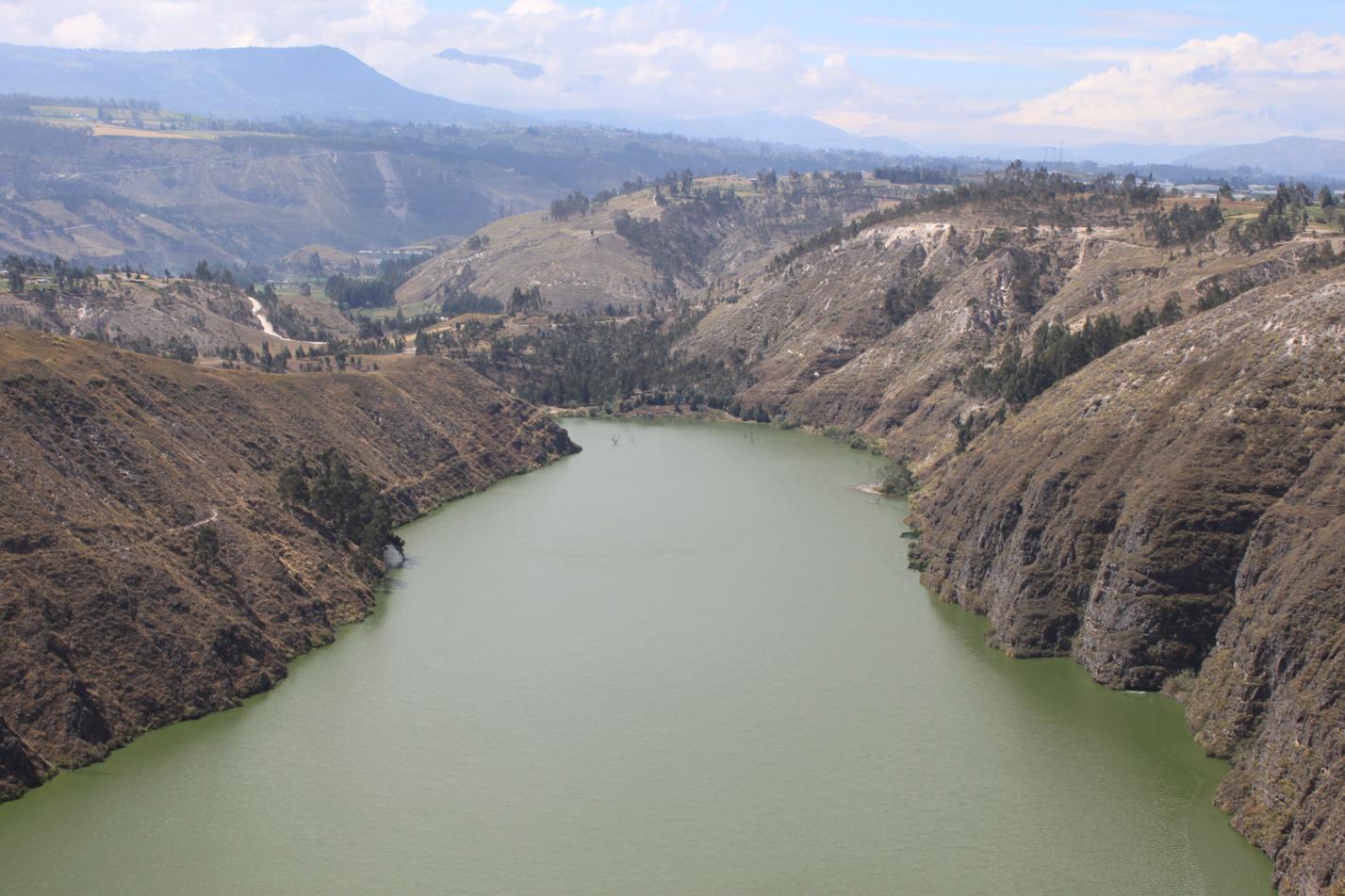 Blick auf die Laguna de Yambo.