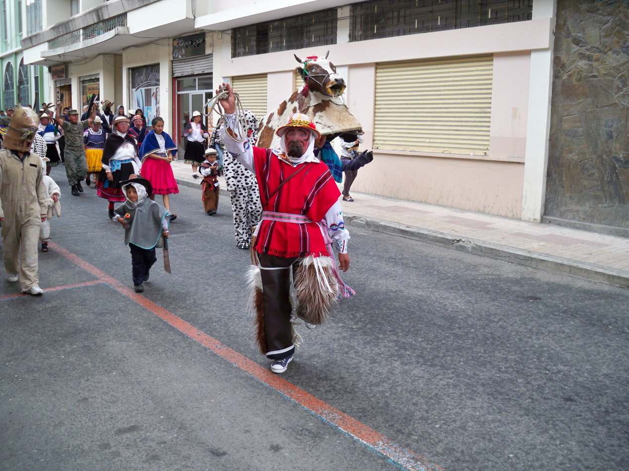 Parade einer Schule.
