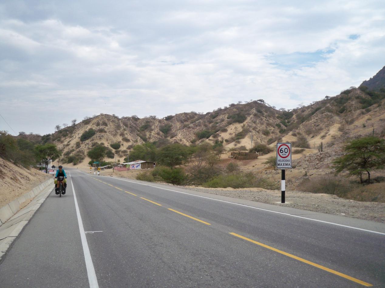 Chulucanas nach Camping vor Olmos