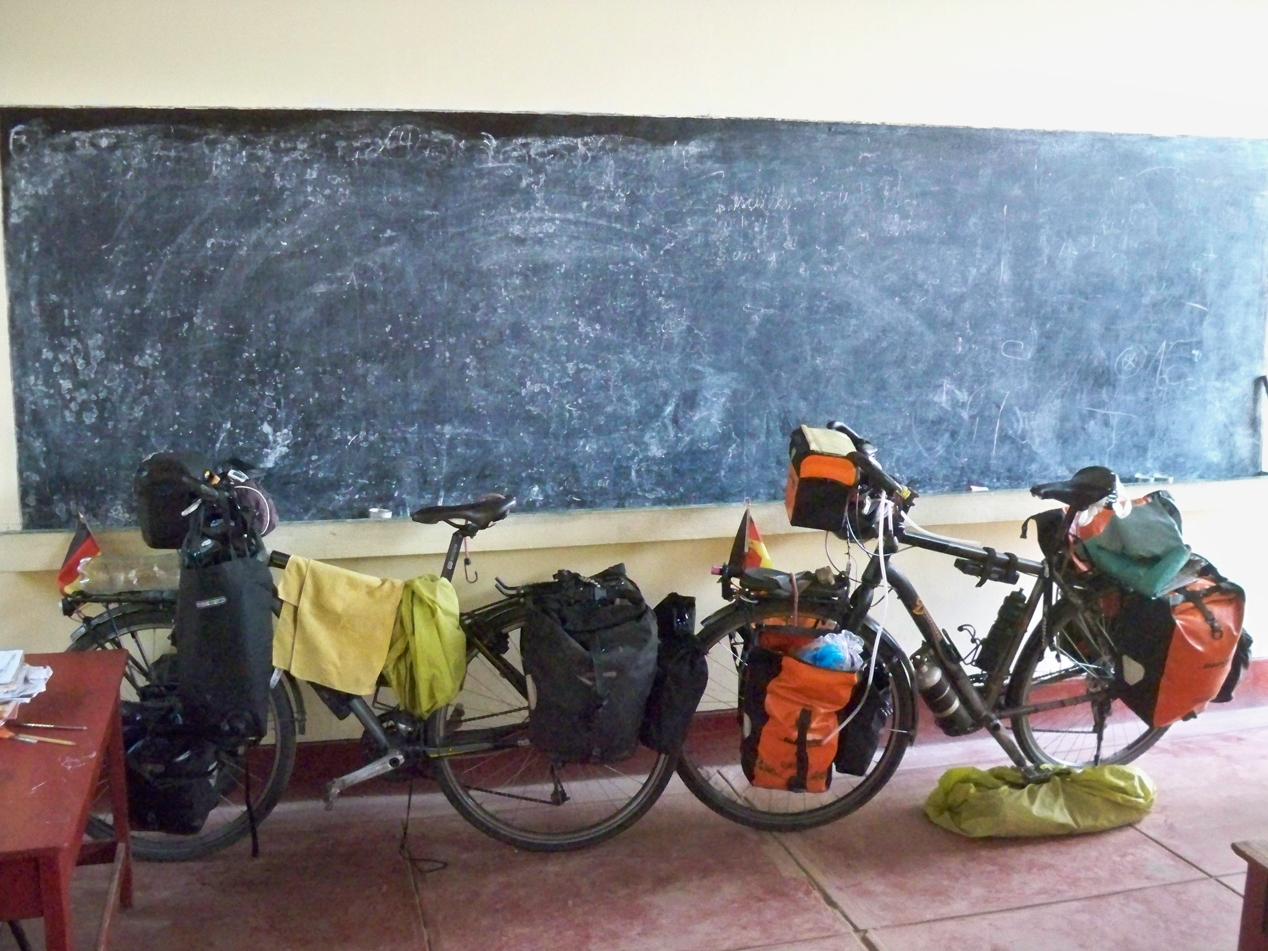 Nachsitzen in der Schule von Chinche.