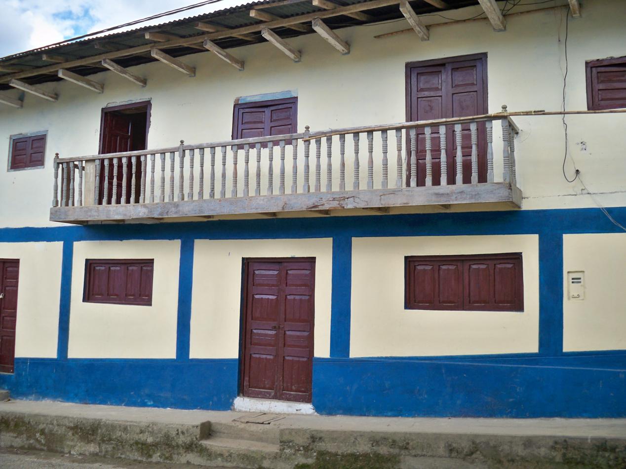 Bild von dem typischen Baustil in La Capilla.