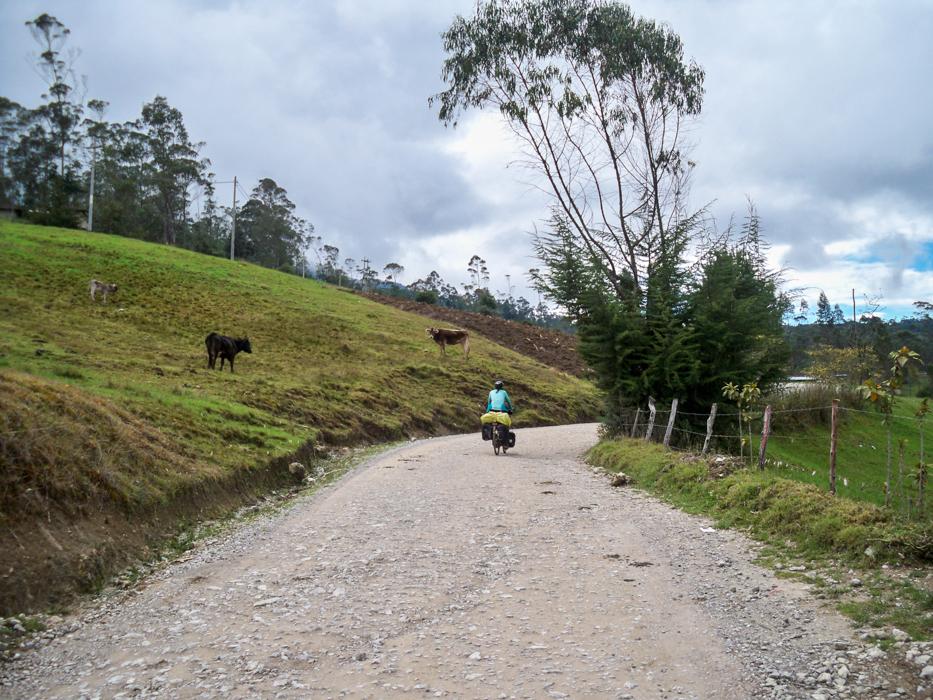 Diese Holperpiste verbindet die Staedte Chota und Bambamarca.