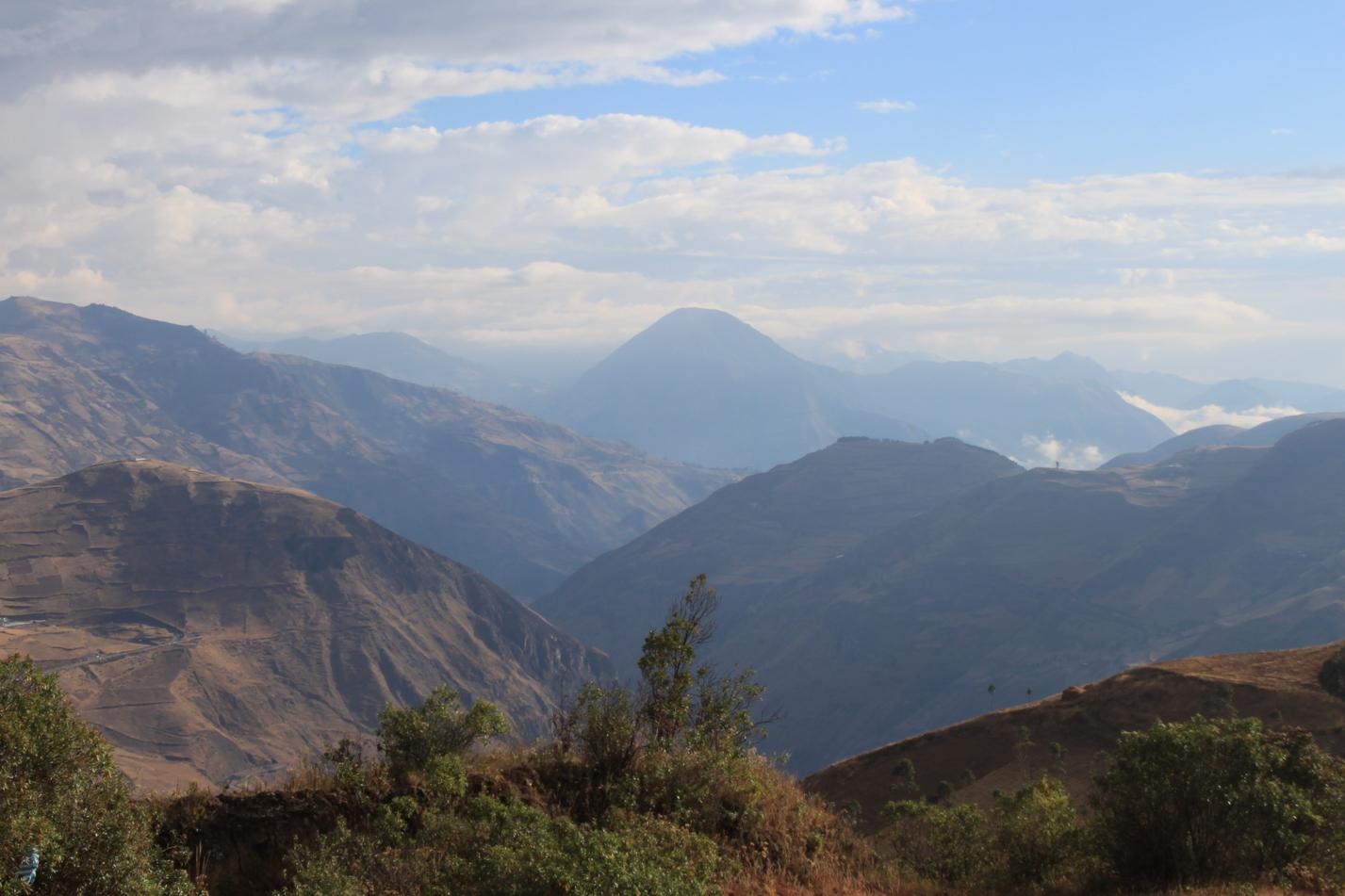 Riobamba bis kurz vor San Pedro de Alausi