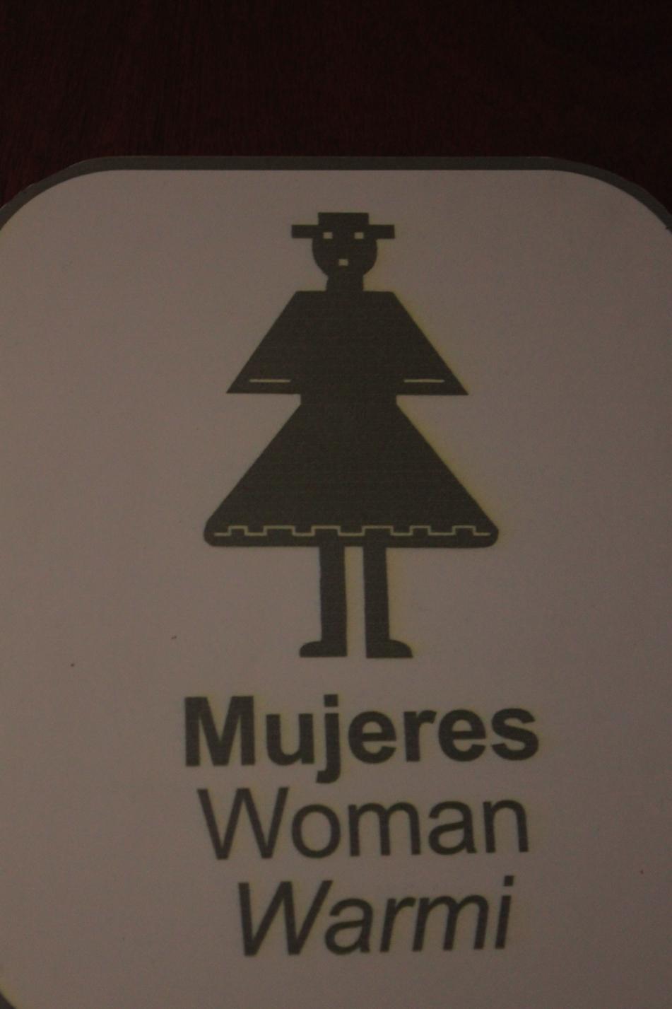 Spanisch, Englisch und Kichwa. Letzteres ist eine Abwandlung von Quechua, der Sprache der Inkas.