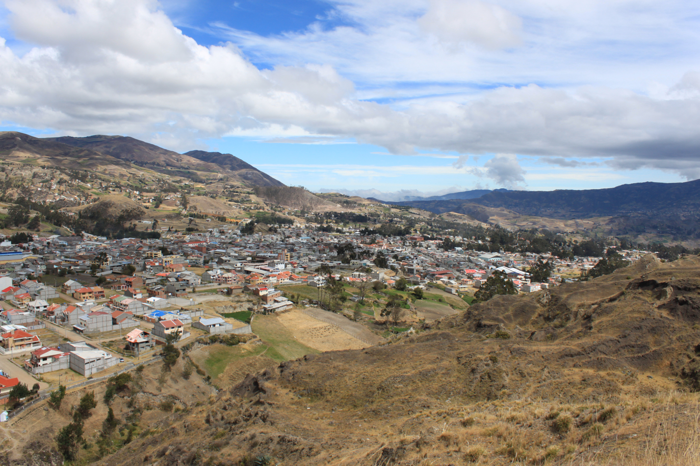 Blick auf Cañar