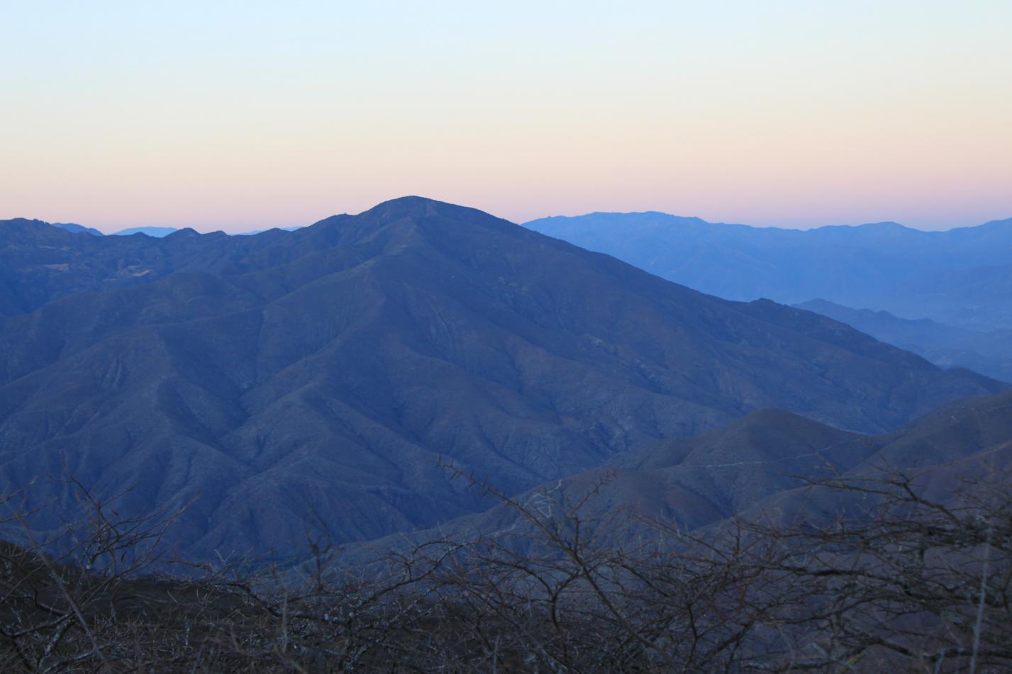 Morgenpanorama in den Anden.