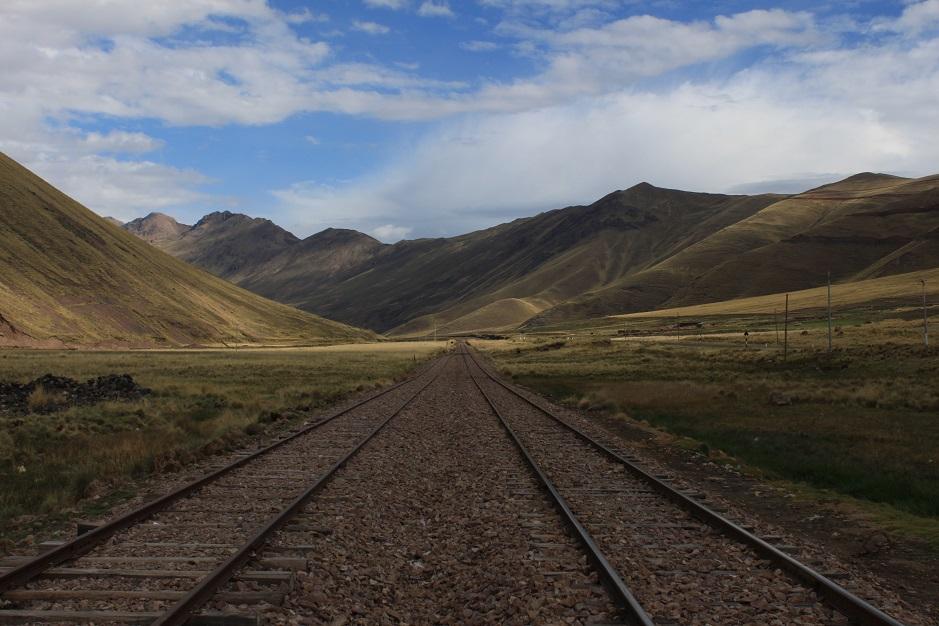 Gleise nach Puno 15.11.