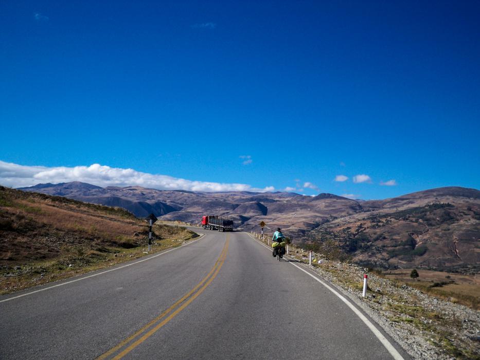 Nach Cajamarca schrauben wir uns wieder in die Höhe.