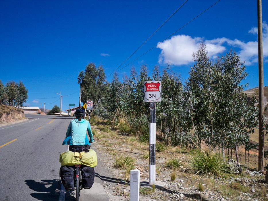 Ruta 3 Norte heißt unsere Straße.