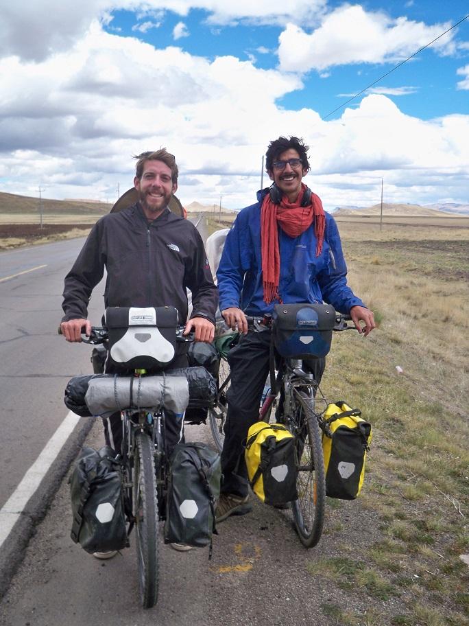 Sean Felipe aus Frankreich und Ernesto aus Urugay