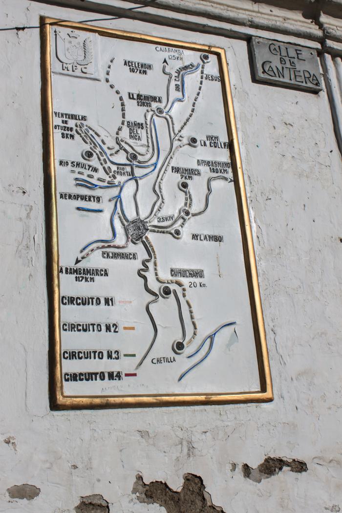 Es gibt auch um Cajamarca viel zu entdecken.