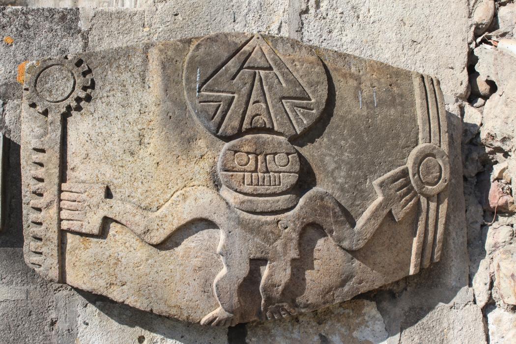 Spuren der Inkas sind in Cajamarca reichlich zu finden.