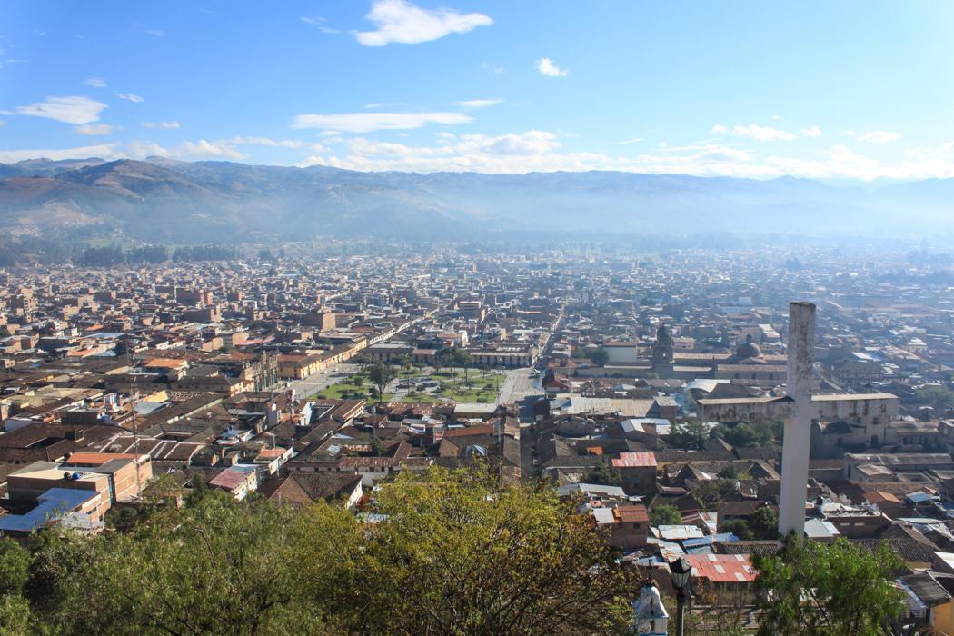 Blick über die Stadt vom Apolonia - Hügel.