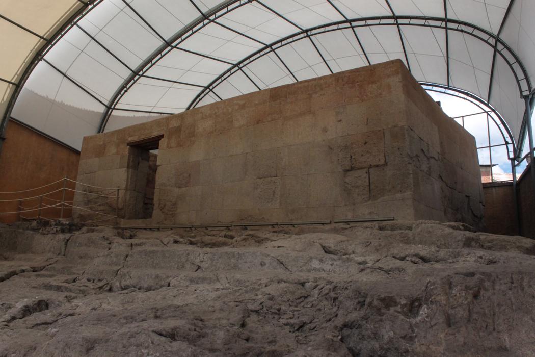 Gefängnis von Atahualpa.