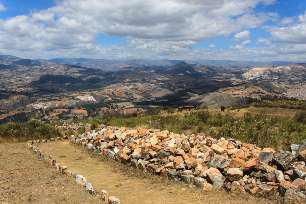 Die Inkas haben nur an Stellen mit bester Aussicht gebaut.