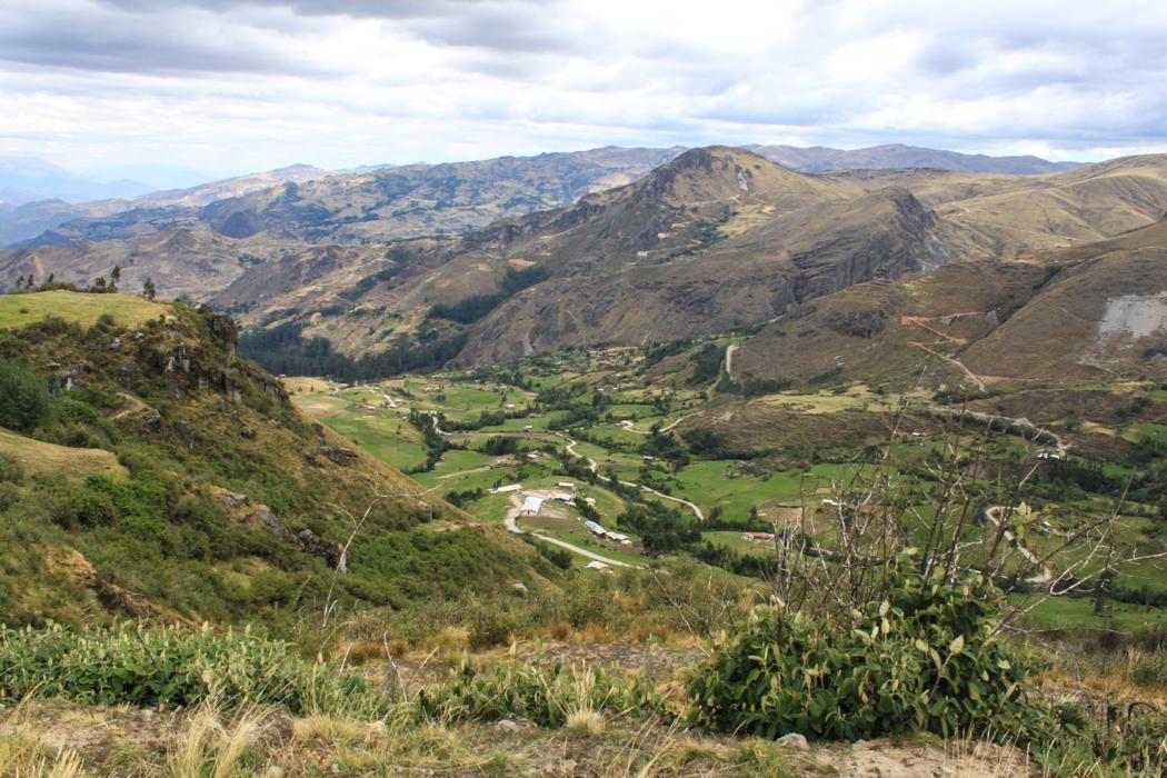 Huamachuco nach Cachicadan