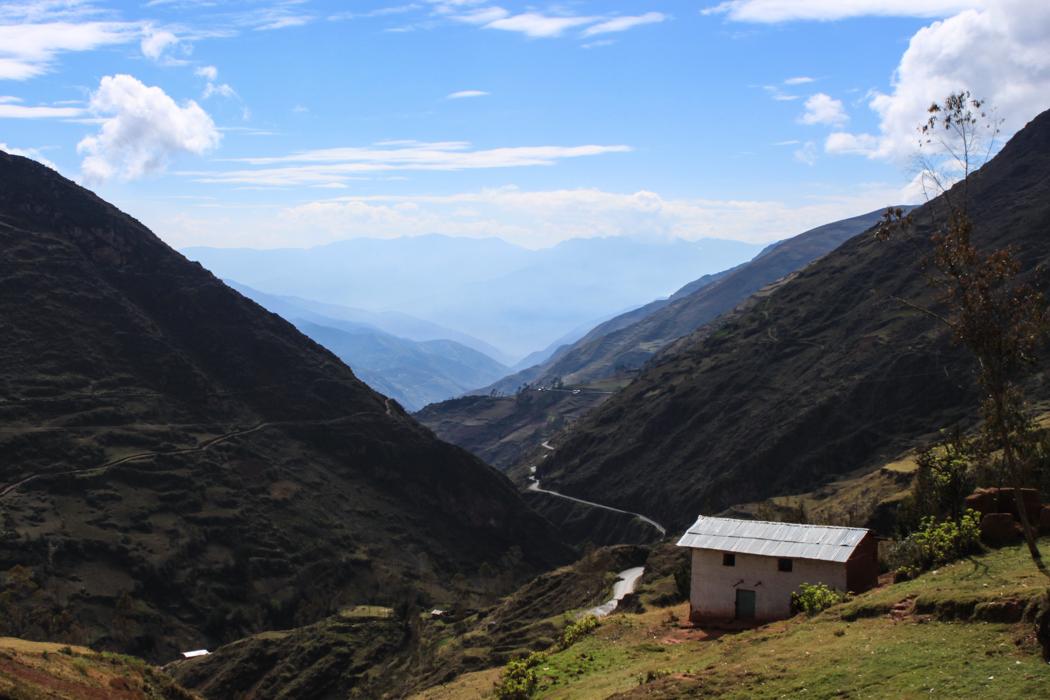 Jetzt nur noch Abwärts bis Huanuco.
