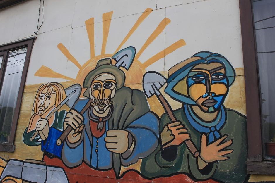 Mural in Punta Arenas 09.02.