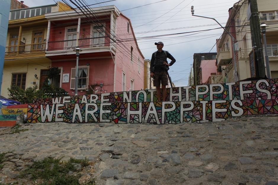 Von Santiago aus, haben wir einen Ausflug in die nahegelegene Hafenstadt und Künstlerstadt Valparaiso unternommen.