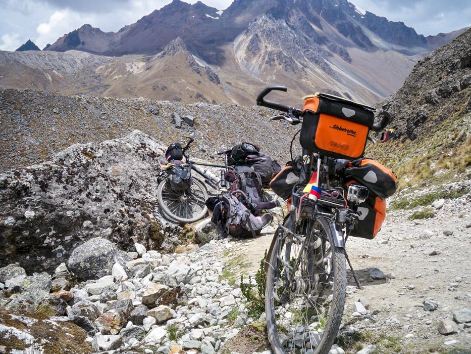 Fahrradfeindliches Terrain!
