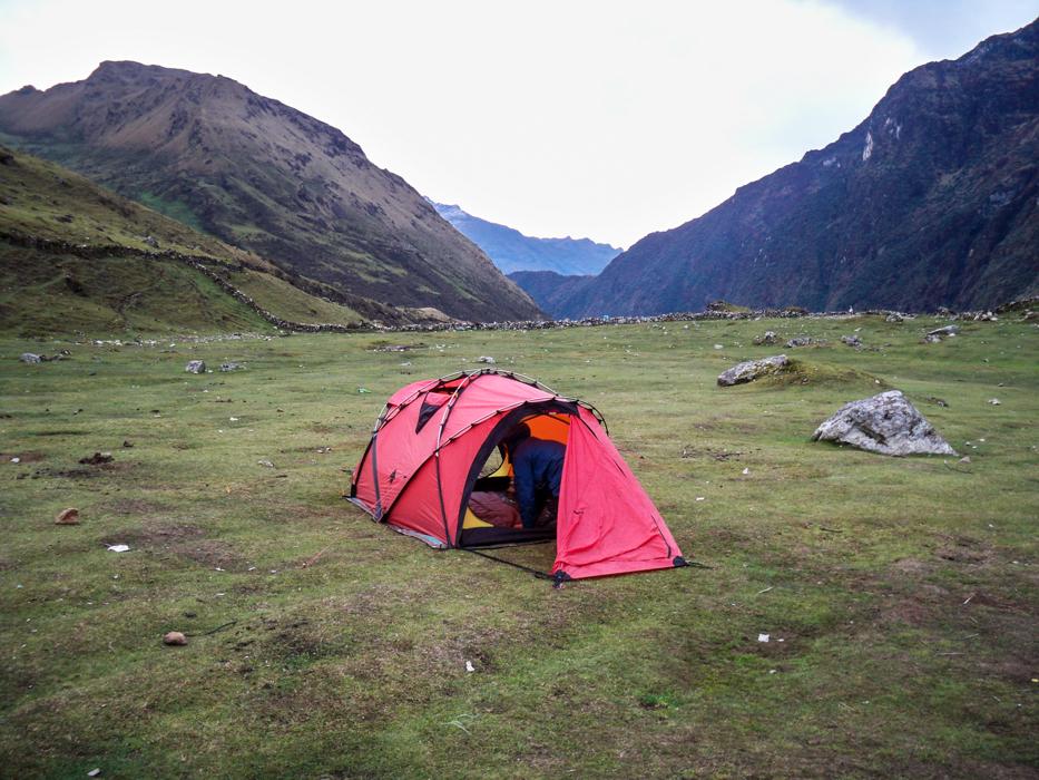 Camping bis Huairaspampa