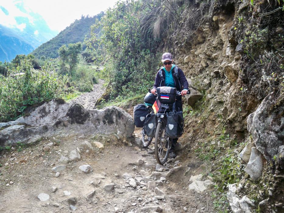 Huairaspampa nach Santa Teresa