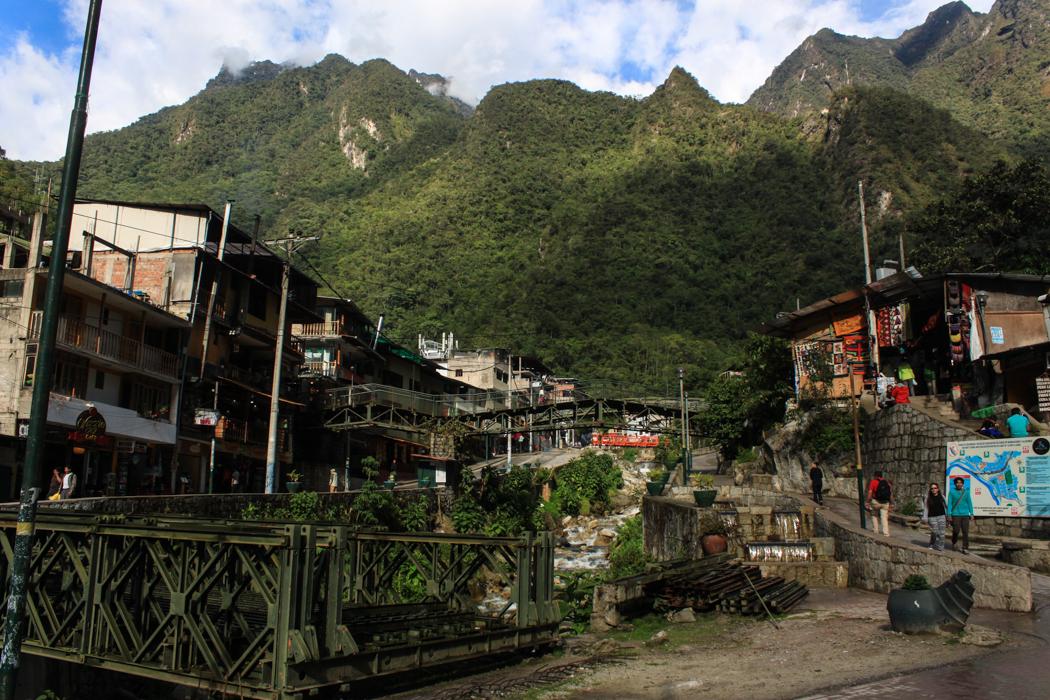 Blick in das Disney Land zu Füßen von Machu Picchu.