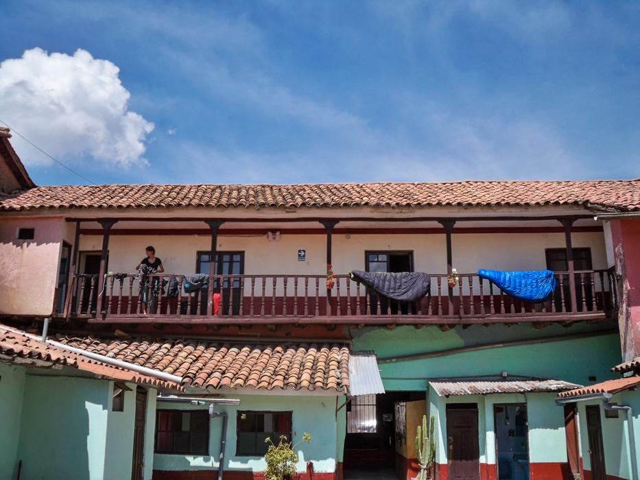 Unser Zuhause für die nächsten Tage. Das Hostel Estrellita.