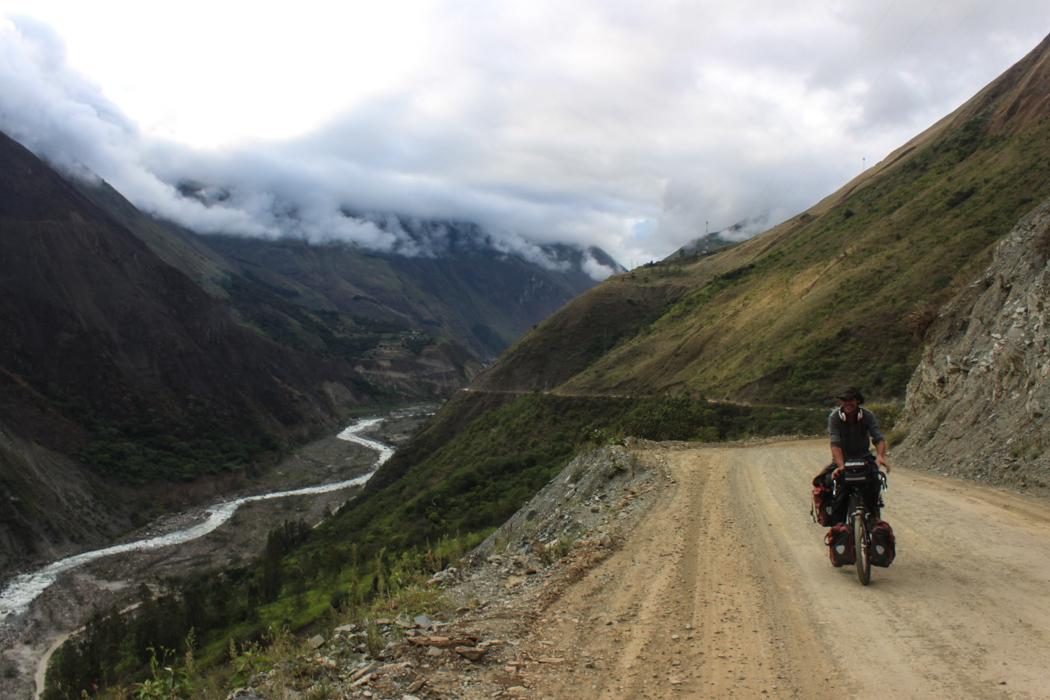 James freut sich schon auf die Pause in Cusco.