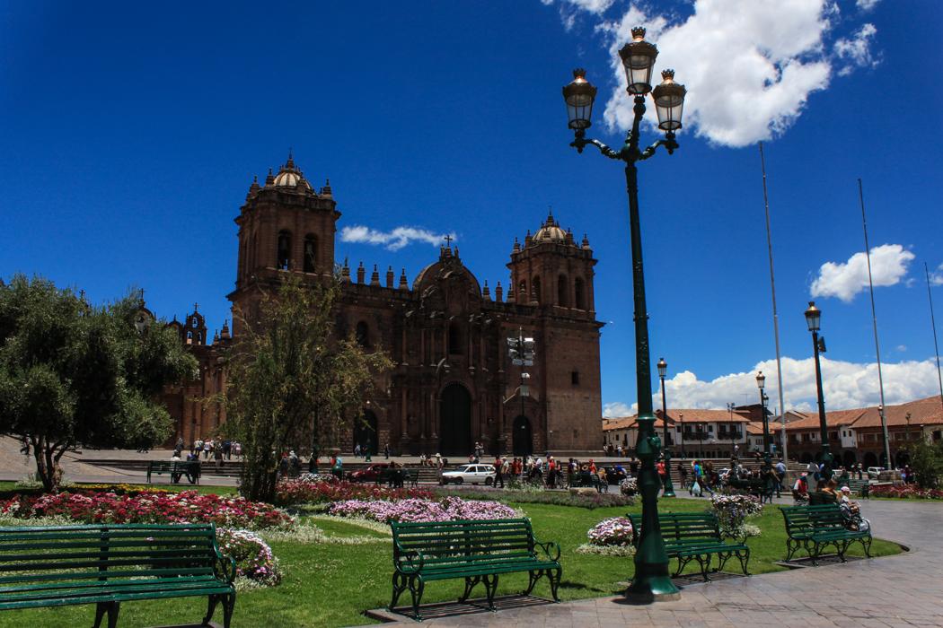 Blick über den Plaza de Armas.